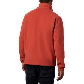 Columbia Fast Trek II Veste polaire zippée Homme, carnelian red/wildfire zip